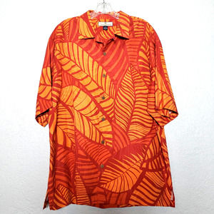 Tommy Bahama Silk Button Up - M